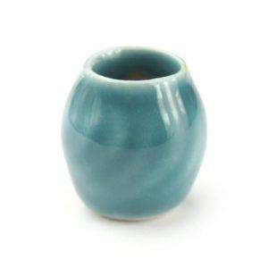 2-x-MyTinyWorld-Dolls-House-Aquamarine-Ceramic-Modern-Curved-Vases-0