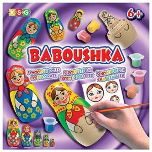 KSG-Arts-and-Crafts-Baboushka-0925-Russian-Doll-Painting-Kit-0