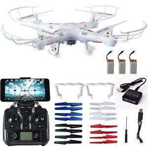 Maxbo X8 Explorers 0.3Mp Camera 2.4G 4 Channel WiFi FPV RC Quadcopter 6 Axis 3D Flip Flight UFO RTF Headless Mode One Key Return RC Quadcopter Reviews
