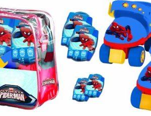 Mondo-Spiderman-Roller-Skate-Set-0