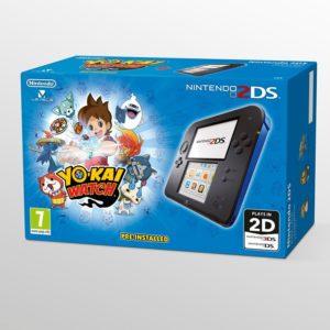 Nintendo 2DS Black & Blue + Yo-Kai Watch Reviews