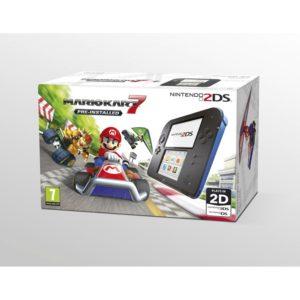 Nintendo 2DS Blue & Black Console with Mario Kart 7 Reviews