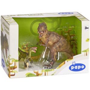 Dinosaur T-Rex and Oviraptor Figure Box Set Reviews