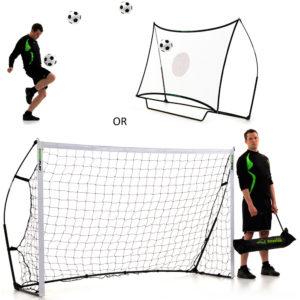 Kickster Combo Goal & Rebounder 8 x 5ft Reviews