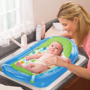 Summer Infant Sparkle and Splash Bath Tub in Blue Reviews